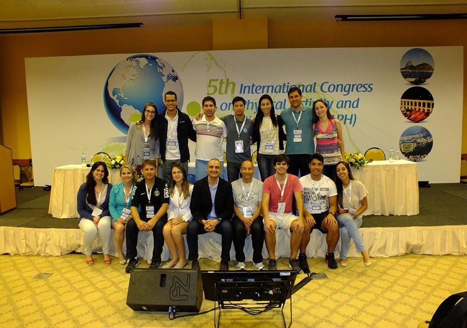 O GPAQ participou da 5ª Edição do International Congress on Physical Activity and Public Health, realizado pela primeira vez no Brasil.