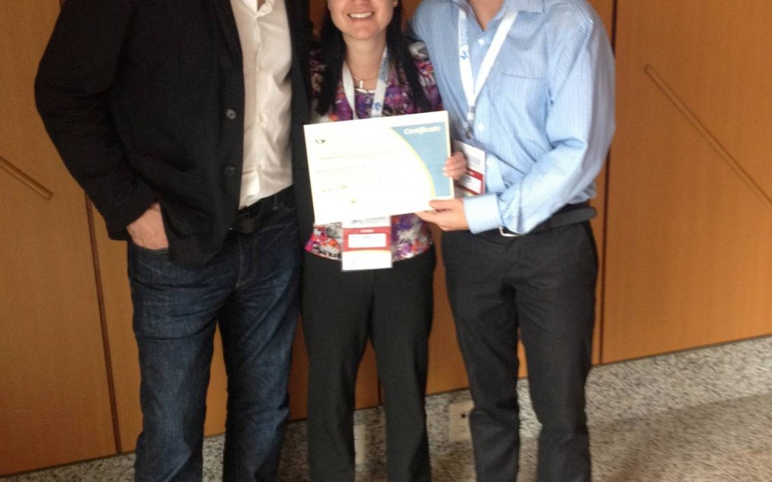 Adriano Akira é premiado em Conferência Internacional