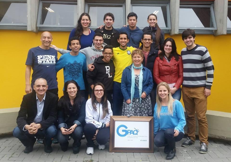 GPAQ recebe visita da Colômbia