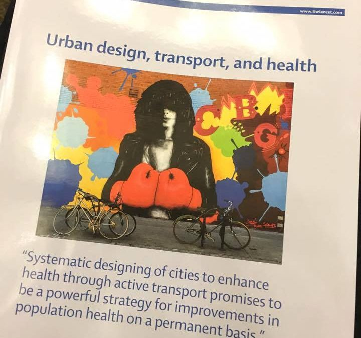 The Lancet – Urban design, transport and health.