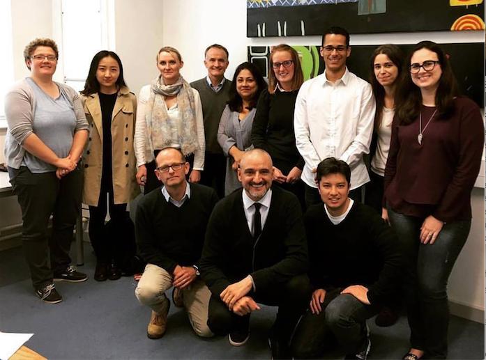Professores do GPAQ participam da primeira reunião do projeto HULAP
