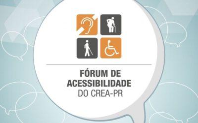 Fórum de Acessibilidade do CREA-PR – 2019