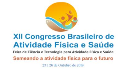 XII Congresso Brasileiro de Atividade Física e Saúde – Bonito-MS.