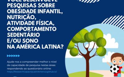 Capacidade para investigação em obesidade infantil na América Latina