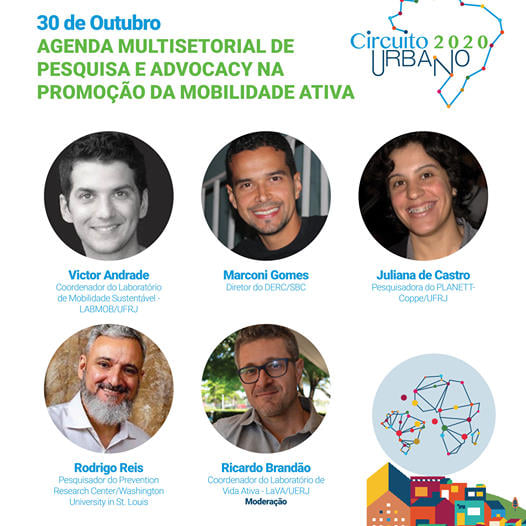 AGENDA MULTISETORIAL DE PESQUISA E ADVOCACY NA PROMOÇÃO DA MOBILIDADE ATIVA