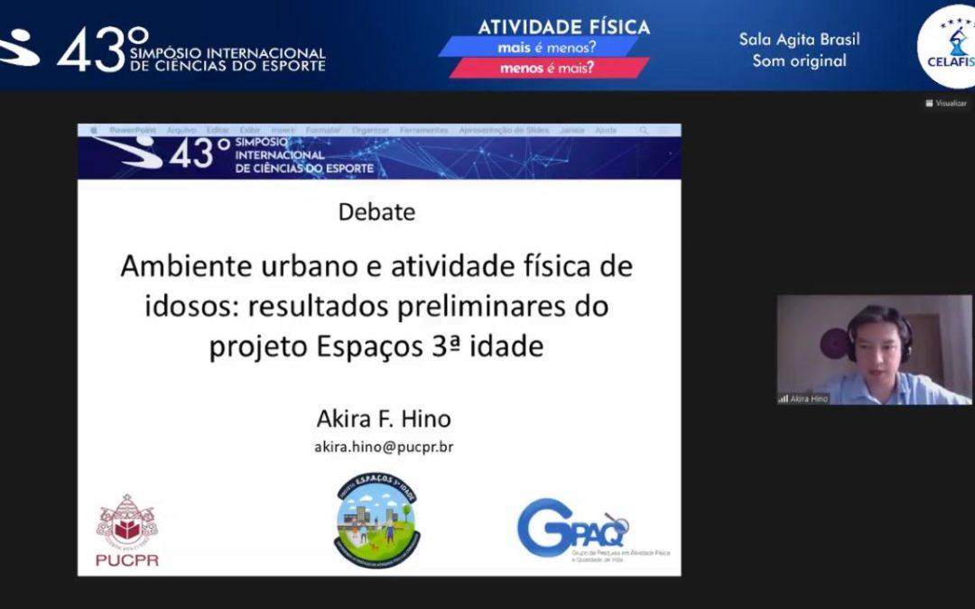 3º SIMPÓSIO INTERNACIONAL DE ATIVIDADE FÍSICA E COMPORTAMENTO SEDENTÁRIO