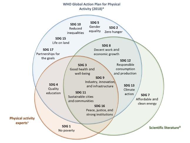 Promoção da Atividade Física dentro dos Objetivos de Desenvolvimento Sustentável