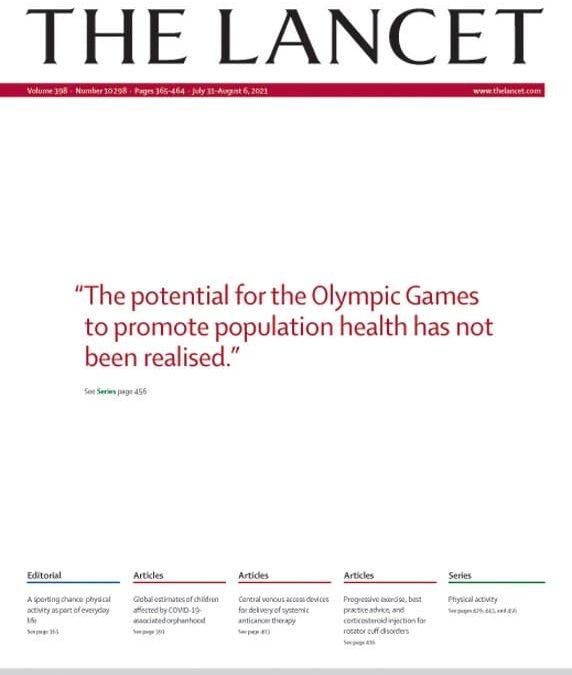 Atividade Física (Lancet Physical Activity Series III)